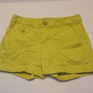 Banana Republic Lime Green Shorts